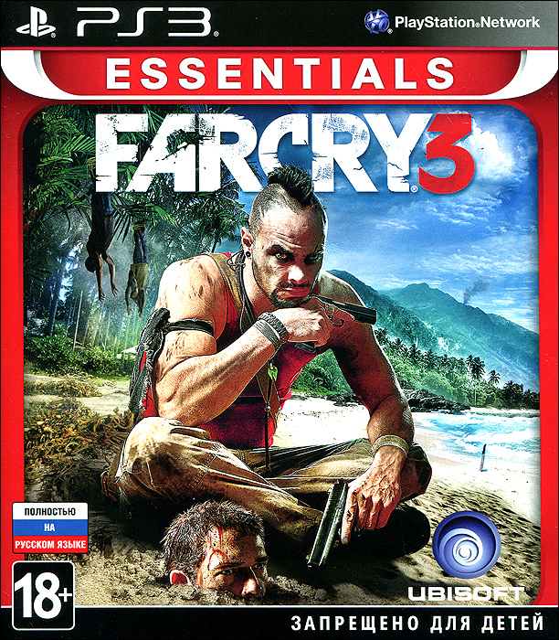PS3 игра Ubisoft Far Cry 3 Essentials