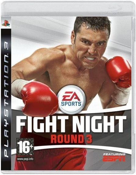 Fight Night Round 3 (PS3) без коробки