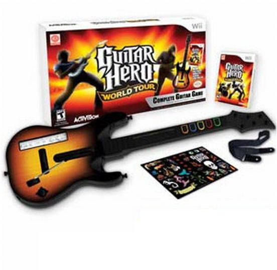 Гитара для Nintendo Wii,Guitar Hero б.у