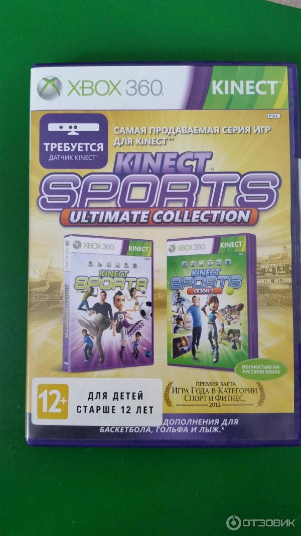 Игра Kinect Sports Ultimate Collection (Xbox 360)