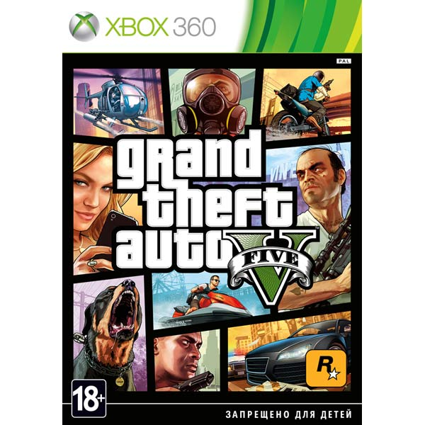 Grand Theft Auto V (Xbox 360) ENG Б.У